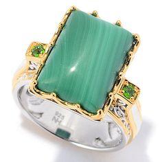 150-292 - Gems en Vogue Multi Gemstone Mini Cabochon Cocktail Ring