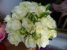 Rose Bouquet with Victorian Roses, Hyatt Clearwater Beach, Beach Weddings