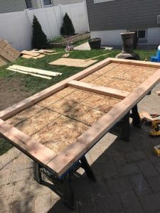 How to build a shed from scratch. Not only how to build a shed but how to do it with your spouse and your kids. Not an easy task. Building A Shed Roof, Building A Storage Shed, Diy Storage Shed, Diy Shed, Small Storage, Outdoor Storage, Tool Storage, Backyard Sheds, Backyard Playground