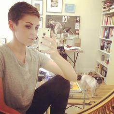 Katie Armour @katiearmour Went extra short ...Instagram photo   Websta (Webstagram)