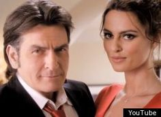 """Charlie Sheen Winning With Winsome New Ads [VIDEOS]   