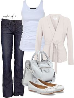 Wrap Sweater, created by styleofe on Polyvore