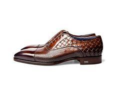 #Zapatos  Angelo Galasso lattice   #Shoes