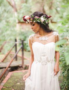 df020c2fa1e Bohemian Jewel-Tone Wedding Inspiration