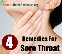 4 Simple Home Remedies For Sore Throat