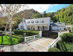 """The Bel-Air home where Judy Garland lived with her mother and sister was renovated and listed for 7.1 million in March 2012. It was built in 1938, when she was cast as Dorothy in """"The Wizard of Oz."""" Stephanie Booth Murray, who bought the home in 2011 for 5.2 million, is the great-great granddaughter of General Harrison Gray Otis, the founder of the Times Mirror Co. in 1884."""