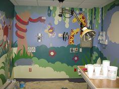 Jungle Animal Mural Jungle Theme Nursery, Nursery Themes, Jungle Animals, Murals, Baby Room, Wall Paintings, Mural Painting, Nursery, Infant Room