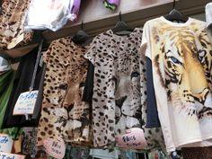 大阪のおばちゃんといえば...のヒョウ柄服を販売する『なみき洋品店』が存在する天満の天神橋筋商店街。