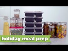 Healthy Meal Prep for the Holidays! - Mind Over Munch - YouTube