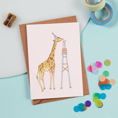 Text inside: It/'s a boy photo greeting note card Baby burro Thin blue border. 4.25x5.5