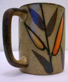 earthenware mug.