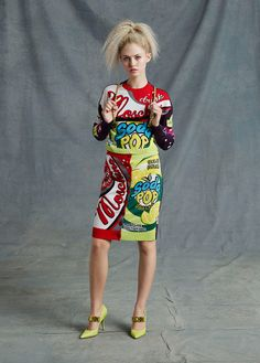Moschino Resort 2015. Read the review on Vogue.com.