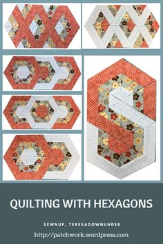 Video tutorial: Quilting with hexagons - 3 layouts