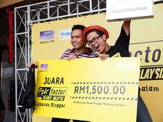 Fear Factor Malaysia #fearfactormy @fearfactormy 1st place of Fear Factor Malaysia blogger challenge
