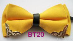 BRAND NEW COACHELLA New Design Yellow Handmade Double Groom Ties & Cummerbunds | Buy Wholesale On Line Direct from China