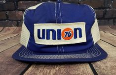 386bf5d43605 Vintage Mesh Snapback Cap Hat Union Phillips 66 oil Trucker PATCH  K-Products 80s #