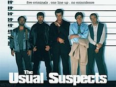 The Usual Suspects - with a link for The Top 25 Gangster Films of the Last 40 Years