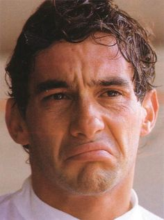 Senna is not impressed San Marino Grand Prix, Aryton Senna, Gp F1, Formula 1 Car, Thing 1, F1 Drivers, Guy Names, Motogp, Cristiano Ronaldo