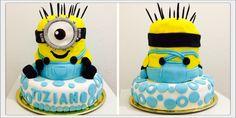 #MinionsCake Torta de #Minions #MiVillanoFavorito #DespicableMe Diseño de #Tortas3D