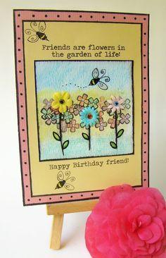 SOLD ~ birthday card