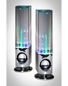 LED Watershow Speakers in Home & Dorm Party Lighting LED Lights  From spencersonline.com · $30.00