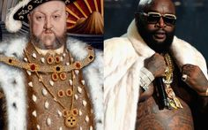 The tumbler B4-XVI berforesixteen has made a hilariously clever and all too accurate comparison between contemporary Hip Hop artists and paintings made before the 16th century, making everyone involved look quite ridiculous. When you first look at the fashion styles of centuries old