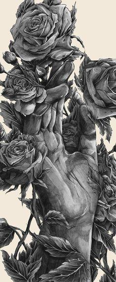Solo crecieron flores,cuando me fui de ti