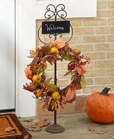Chalkboard Wreath Hangers