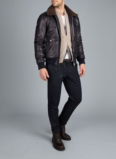 Look 06 Gore Tex Jacket, Brunello Cucinelli, Online Boutiques, Guy, Leather Jacket, Jackets, Dress, Inspiration, Fashion
