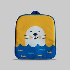 Excited to share the latest addition to my #etsy shop: Rybka - Small Backpack 2-3 Years, Kids Backpack, Toddler Bag, Preschool Kids, Playgroup bag, Seal http://etsy.me/2CGBVXP #bagsandpurses #backpack #blue #orange #kids #toddlerbag #preschoolkids #playgroupbag #gift