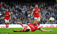 Mertesacker performed well in the match against Manchester City