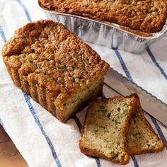 Zucchini Pignoli Loaf Cake 3Pk, $16, now featured on Fab.