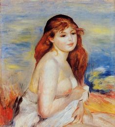 Pierre-Auguste Renoir >> Banhista 3