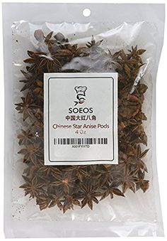 Soeos Star Anise Seeds (Anis Estrella), Whole Chinese Star Anise Pods, Dried Anise Star Spice, 4 oz. Mead Recipe, Pho Recipe, Chai Tea Recipe, Latte Recipe, Vanilla Chai Tea, Chicken Pho, Roasted Chicken, Chinese Five Spice Powder, Summer Chicken