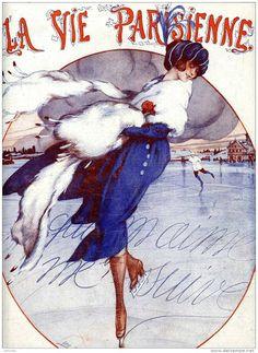 VINTAGE BLOG: La Vie Parisienne : Léo Fontan