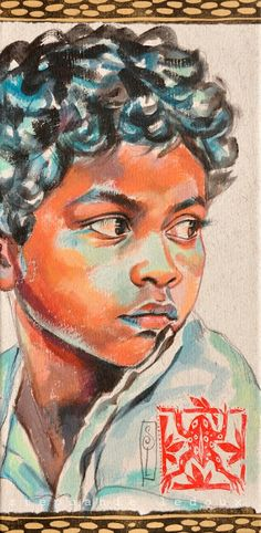 Stephanie Ledoux | India Travel Sketchbook, Art Sketchbook, Collages, Contemporary Art Artists, Ledoux, Africa Art, Painting People, African American Art, Watercolor Portraits