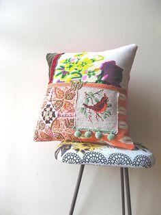 Silk Cardinal cushion | Flickr - Photo Sharing!