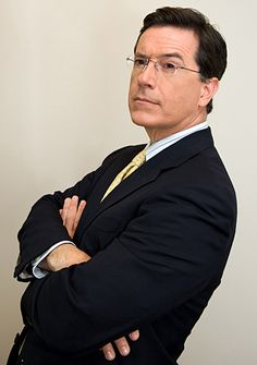 """Stephen Colbert    """"I think of him as well intentioned, poorly informed, high status idiot."""""""