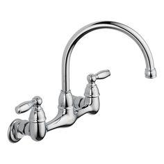 Peerless Choice Wall Mount Kitchen Faucet P299305LF Chrome