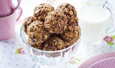 Pożywne ciasteczka, które przygotujesz bez pieczenia Christmas Eve, Kiwi, Cereal, Oatmeal, Breakfast, Food, The Oatmeal, Morning Coffee, Rolled Oats