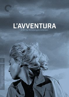 """L'avventura"" by Michelangelo Antonioni (1960) - The Criterion Collection. Reissued 2014."