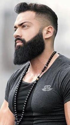 Beard Haircut, Fade Haircut, Mens Hairstyles With Beard, Haircuts For Men, Beard Styles For Men, Hair And Beard Styles, Clean Cut Beard, Mens Beard Grooming, Trimming Your Beard