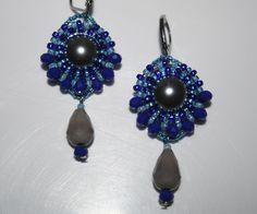 Beaded Bead, Drop Earrings, Beads, Jewelry, Fashion, Beading, Moda, Bead, Jewels