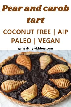 Try this easy French fruit tart. This healthy recipe is vegan and gluten free. #AIP #paleo #vegan #glutenfree Real Food Recipes, Vegan Recipes, Autoimmune Paleo, Fruit Tart, Recipe Ratings, Some Recipe, Cooking Time, Paleo Vegan, Good Food