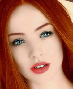 Top 10 Countries With The World's Most Beautiful Women (Pictures included) Beautiful Red Hair, Gorgeous Redhead, Most Beautiful Faces, Gorgeous Eyes, Pretty Eyes, Red Hair Woman, Woman Face, Ginger Girls, Redhead Girl