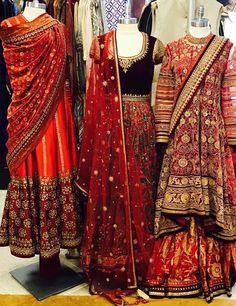 Our store is filled with Tarun Tahiliani's red hues . #themallatoaktree #fashion #instadaily #instalike #style #ootd #instafashion #musthave #shopping  #bridesmaid #shopoline #indianfashion #indianwedding #celebritystyle #indianwear #asianfashion #desifashion #bridesmaid #igers #newyork #nyc #newyorkfashion  #fashiondiaries #fashiongram #festive #couture #lookbook #tauntahiliani