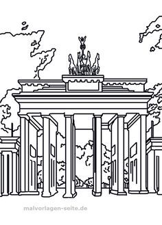 Brandenburger Tor Als Malvorlage Ausmalbilder Tor Brandenburger Ausmalbilder Malvorlagen Malvo In 2020 Happy Dussehra Wishes Projects To Try Famous Buildings