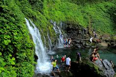 Minangkabau, Waterfall, Country, Nature, Outdoor, Beautiful, Outdoors, Naturaleza, Rural Area