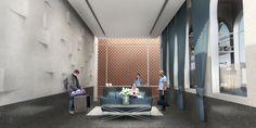 Lakeside Hotel, Fashion Room, Design
