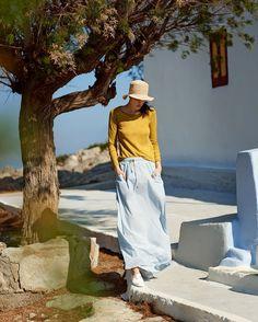 TOAST Women SS15 High Summer / Lookbook. Photographed by Nick Seaton. Symi, Greece. #TOASTHIGHSUMMER15